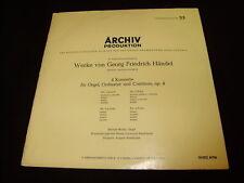 Archiv Produktion, Werke von Georg Friedrich Händel LP