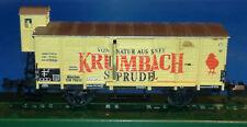 Spur N -  minitrix 13657 Krumbach Sprudel ehm. DRG, neuwertig