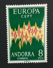 MOMEN: ANDORRA CEPT # 1972 MINT OG NH $150 SINGLE LOT #5792*
