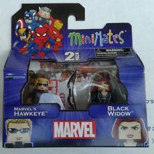 Marvel Minimates Avengers TRU Wave 17 Comics Hawkeye & Black Widow FREE SHIPPING