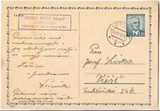 Czechoslovakia Jimramov 15.IV 1947 Stationery Postal Card PSC CDV83