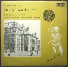 LP GUSTAV MAHLER - das lied de der erde, Ferrier, Walter, Decca