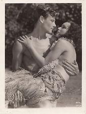 Photo originale Dolores del Rio Joel McCrea Bird of Paradise  King Vidor