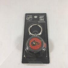 NEW NHL Ottawa Senators Hockey Puck Flashlight Key Ring