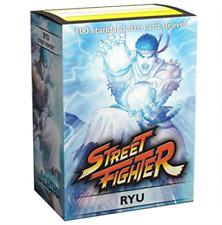 Ryu Street Fighter Dragon Shield Art 100 ct Standard Size Mtg Pokemon Sleeves