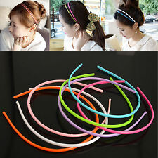 10pcs 4mm Plastic Teeth Lady Girl Headband Hairband Alice Band Hair Accessories