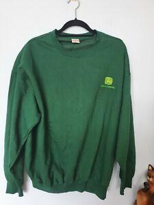 John Deere Men's Jumper Size XL.  Green. New