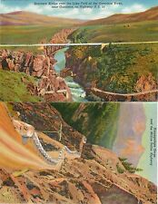 USA COLOR. two-sided printing NO postcard Million dollar Highway N°4 (S-L XX282)