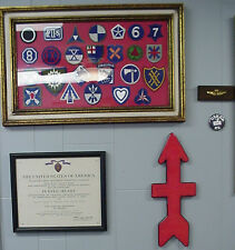 32nd Infantry Division Award/Recognition Wall Plaque. Mint condition in PX Box