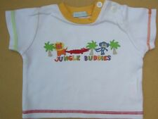 100% COTTON JUNGLE TOP & RED SHORTS by *PITTER PATTER* for NEWBORN