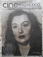 rivista cine magazzino teatro radio cinema clara calamai italian magazine rare