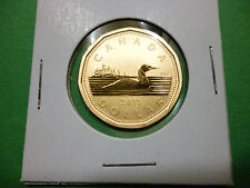 2011 Canada, 1 dollar,  specimen loonie only from baby elk specimen set.