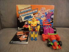 1990 TRANSFORMERS G1 ACTION MASTERS CIRCUIT BOXED RARE