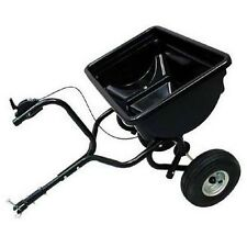 BROADCAST SPREADER - 85 Lbs Capacity - Tow Behind - 14,200  Sq Ft Coverage