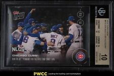 2016 Topps Now Chicago Cubs NLCS #615A BGS 10 PRISTINE