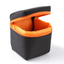 Waterproof Mirrorless Camera Lens Bag Padded Pouch Protector Carry Small Case