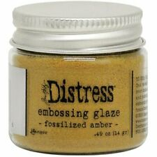 Tim Holtz - Distress Embossing Glaze - Fossilized Amber - Yellow
