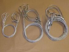 12 Survival Snares 4 small,4 med, 4 large snares(trapping,traps,snares NEW SALE