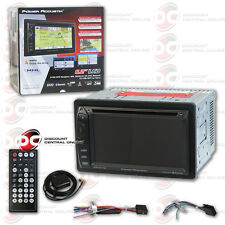 "Power Acoustik Pdn-621Hb 2Din 6.2"" Touchcreen Dvd Bluetooth Stereo W/ Gps & Mhl"