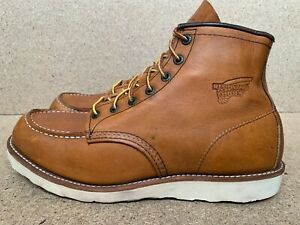 Red Wing Heritage 6'' 875 Oro Legacy Moc Mens Leather Boots 11 D