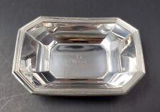 Vintage Gorham Sterling Silver Nut/Candy Octagonal Dish #4 Monogrammed 23.5g