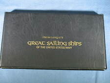 Official Cachet Charles Lundgren's Great Sailing Ships of US Navy Set of 7 FDC