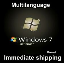 Windows 7 Ultimate Service Pack1 - Multilangual - 32/64bit - ESD - Original 100%