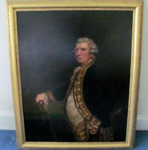 Portrait of Augustus,Admiral Viscount Keppel 1725-1780)After Sir Joshua Reynolds