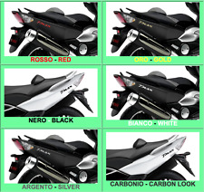2 ADESIVI/STICKERS in RESINA 3D SCRITTA TMAX per SCOOTER x MOTO YAMAHA T MAX 500