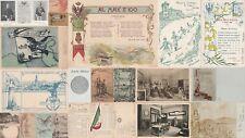 * MILITARE - Scuole Militari Italiane - Lotto di 20 Cartoline 1900/1930