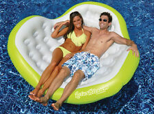 Swimline Lotus Blossom Double Comfort Lounge Float 90525 Pool Party Inflatable