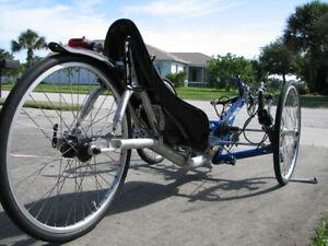 Pro Cycling Recumbent Trike Bike