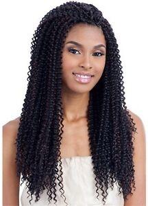 Model Model Glance Kinky Bohemian Hair Extensions 18 Inches for Crochet Braiding