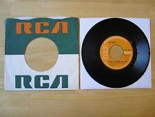 Elvis 45rpm record & RCA Sleeve, Clean Up Your Own Back Yard, U.K. orange label