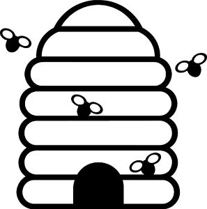 Beehive Vinyl Decal Sticker for Car/Window/Wall