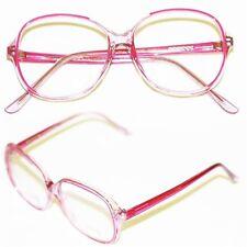 "Bifocal Reading Glasses Women's Classic Large "" ROSE "" Pink Frame +1.75 Lens"