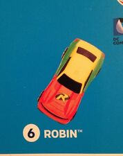 McDONALD'S SUPER HEROES HOT WHEELS #6 Robin 2016 New In Package