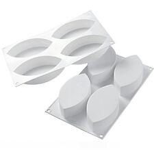 Silikomart Silicone Baking Mold SF121, Pointed Oval 8.7 Oz (257ml)