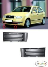 SKODA FABIA 1999 - 2002 NEW FRONT BUMPER LOWER GRILLE GRILL PAIR LEFT + RIGHT