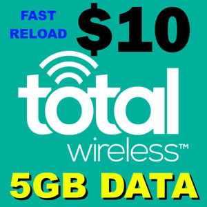 $10 TOTAL WIRELESS 🔥 DATA ADD-ON 🔥 >> FASTEST🔥 DIRECT TO YOUR PHONE ACCOUNT
