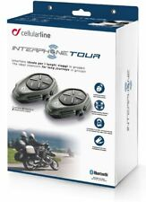 Interfono Cellularline Tour 2 PEZZI Bluetooth fino a 4 moto distanza max 1,5km