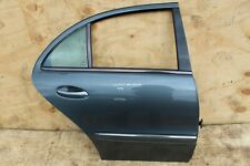 MERCEDES E CLASS W211 REAR DRIVER RIGHT DOOR, IN LIGHT BLUE 2005 AVANGARD