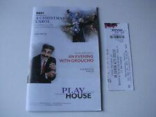 Frank Ferrante An Evening with Groucho Cincinnati Play House in the Park Program