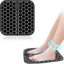 EMS Electric Foot Massager Machine Foldable Portable Electric Massage Cushion