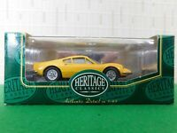 Heritage Classic Die Cast Model Car Scale 1:43 Ferrari Dino Giro D Italia 1955