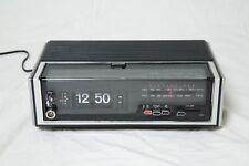 Vintage Capehart Cr 101 Flip Clock Radio Alarm Clock AM/FM For Parts