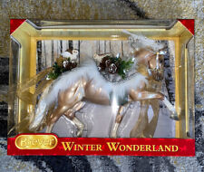 Breyer Winter Wonderland 700126 NEW! 2017 Traditional Holiday Christmas Horse LE