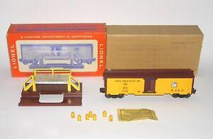 High Grade Lionel #3672 Operating Bosco Car w/Platform +BOX (DAKOTApaul)