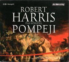 ROBERT HARRIS - POMPEJI 2 CD DIGIPAK HÖRBUCH HISTORISCHE ROMANE ITALIEN VESUV