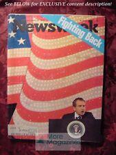 NEWSWEEK November 26 1973 Nov 73 RICHARD NIXON Not a crook PRINCESS ANNE WEDDING